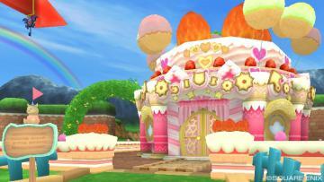 念願のお菓子の家ヾ(*´∀`*)ノキャッキャ