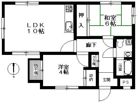 YKマンション203