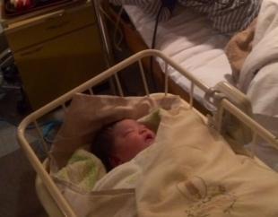 赤ちゃん 生後2時間
