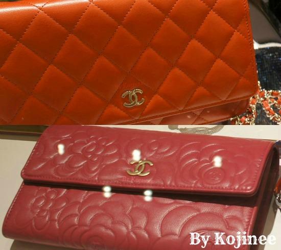 Chanel wallet×2