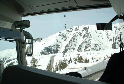 車窓から@立山アルペンルート