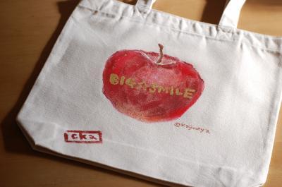 りんごバッグ