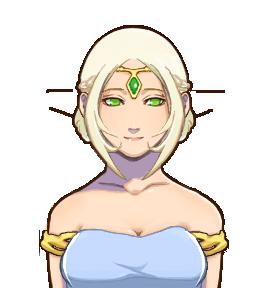 エルフの姫(人間)-1
