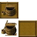 和風の井戸