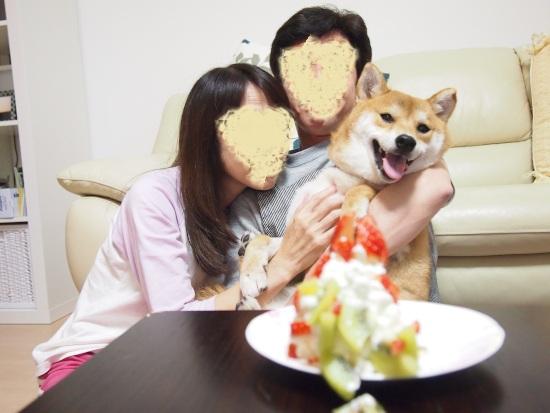 3歳誕生日 - コピー