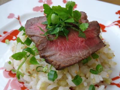 緑米の和ハーブ寿司