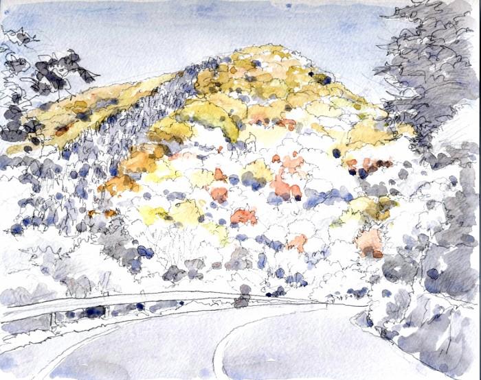 亀岡への道 未完 (700x554)