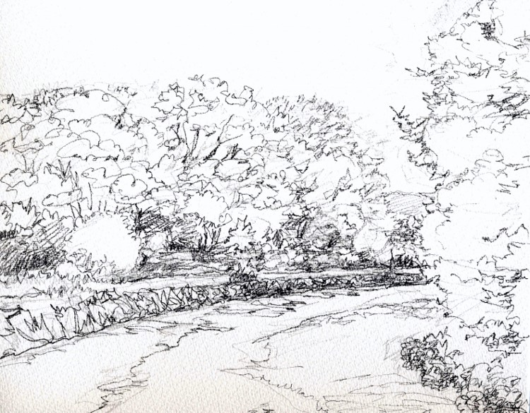 八木の山里 デッサン 3F (750x585)