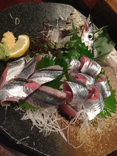 2012秋刀魚のお刺身