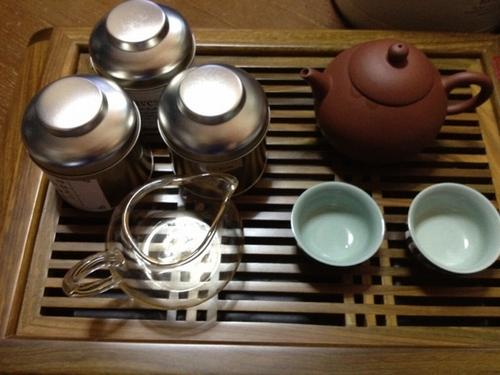 本日のお茶セット 三種