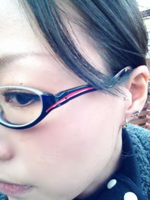 ナルガモデル眼鏡!