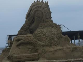 砂のゴジラ