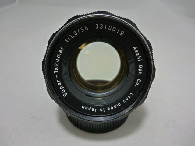 Super-Takumar 1:1.8/55mm M42 '62 前