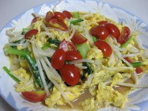 ふんわり卵のさっぱりトマト