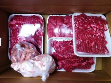 肉の量11KG