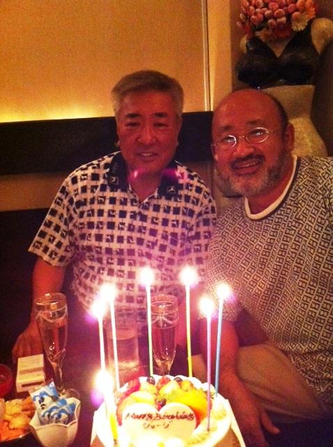 世良さんケーキ