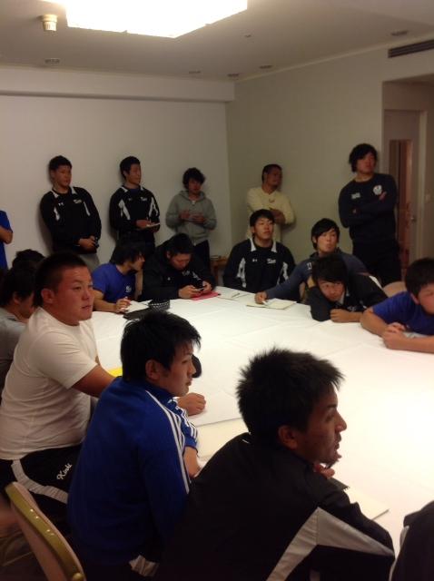 チームミーティング1