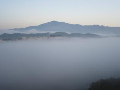 霧天の大山