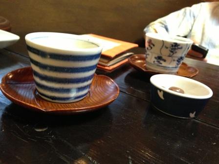 ロアールでお茶を頂きました