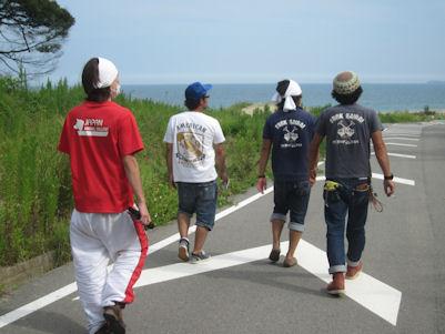2012.8.30海岸沿い