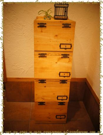 木工(靴箱②)