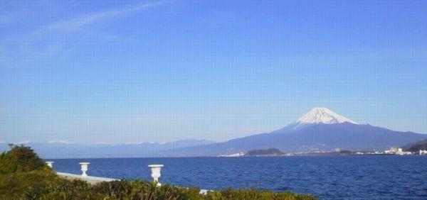 2013010608530000 六日 ホテルから富士山南アルプス