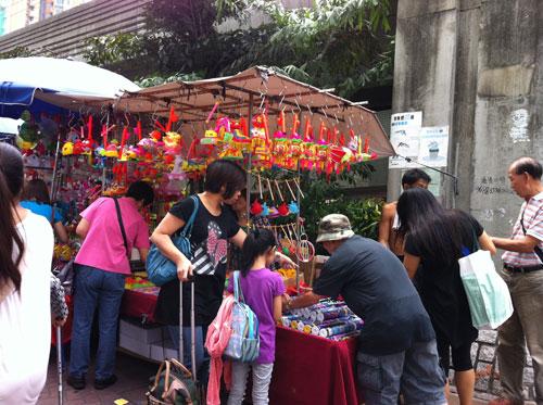 くすり屋さん.comブログ-香港の中秋節2
