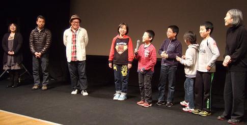 たぬきがいた上映会2013年12月