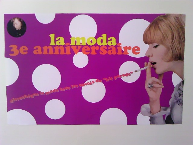 la moda 3rd poster
