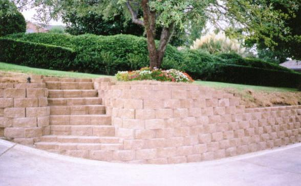 Landscaping Retaining Walls : Retaining Wall Blocks Retaining Wall Blocks Landscaping Ideas