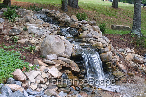 Choosing a landscape water feature design wycepypa for Garden designs with water features