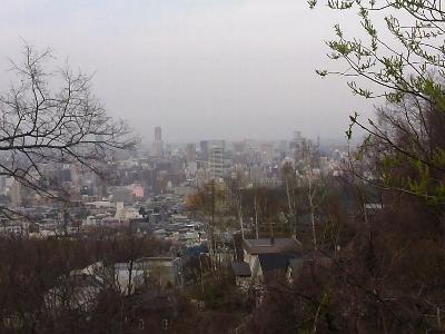 大倉山より