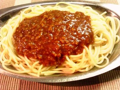 スパゲッティ・ミート・ソース
