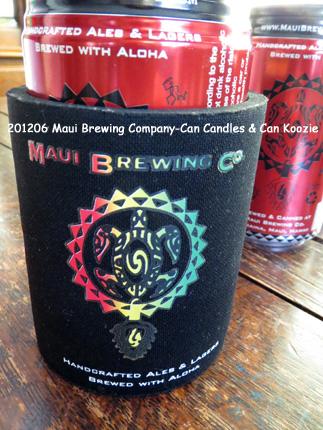 2012年6月 Maui Brewing Company-Can Candles & Can Koozie
