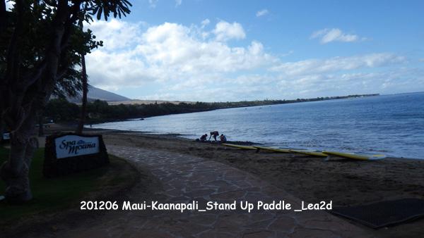 2012年6月 Maui-Kaanapali_Stand Up Paddle AM8:30