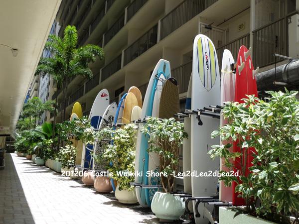 2012年6月 Castle Waikiki Shore