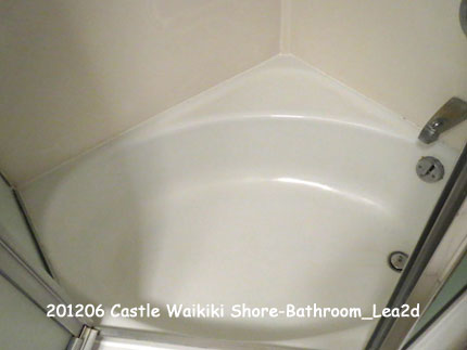 2013年 Castle Waikiki Shore1 - 1 Bedroom / 1 Bath Deluxe Ocean View-Bathroom