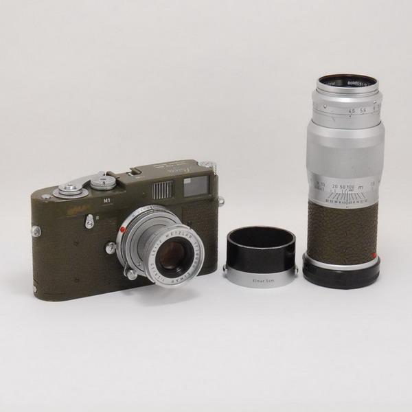 ライカ M1(オリーブ)+エルマーM50/2.8+ヘクトールM13.5cm/4.5_725740a