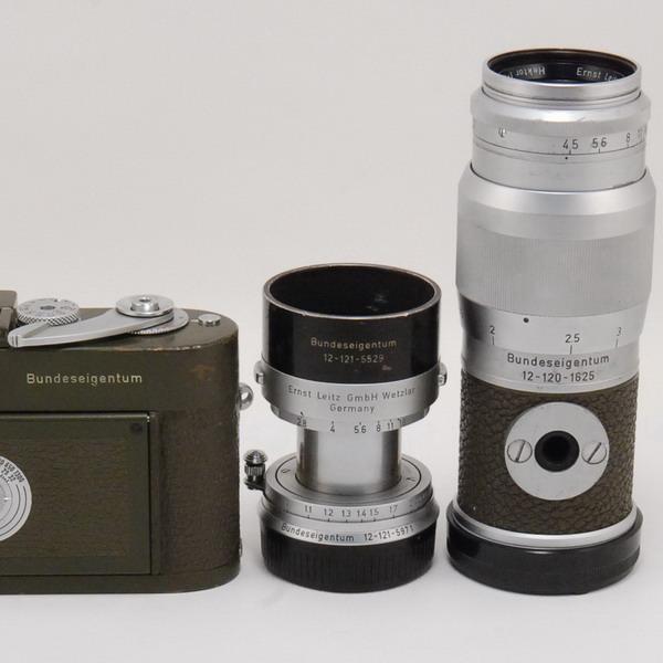 ライカ M1(オリーブ)+エルマーM50/2.8+ヘクトールM13.5cm/4.5_725740c