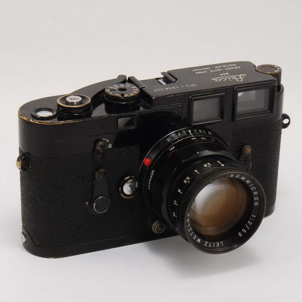 ライカ M3(BP)+ズミクロンM50/2(BP)_733189a