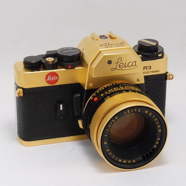 ライカ R3+ズミルックスR50/1.4(ゴールドセット)_733561a