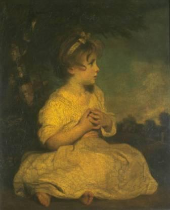 sir josuha reynolds - the age of innocence 1788