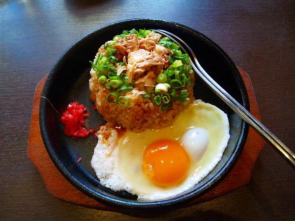 甘藍屋 ランチセット 鉄板炒飯+200円