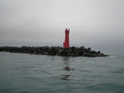 今切れ赤灯台