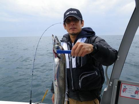 KUSU初太刀魚!F4デブドラゴン