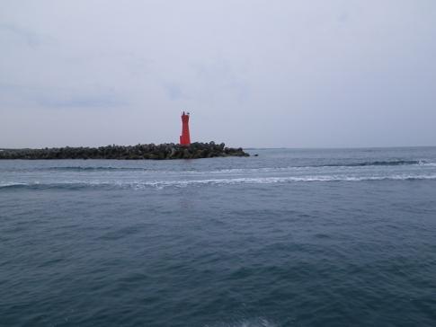 得意の赤灯台
