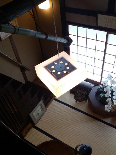樫舎の1階