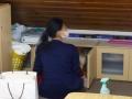 スタッフルーム掃除
