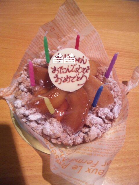 誕生日ケーキ(自宅)