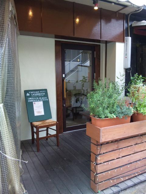 ラ・ボラッチャ玄関